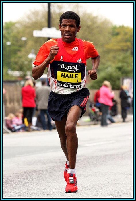 Haile Gebrselassie - Bupa Great Manchester Run 2012