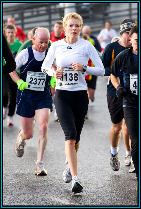 Nell McAndrew - 2008 Leeds Abby Dash