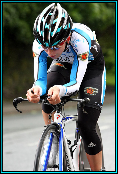 Laura Trott - Holme Valley Wheelers 10 mile Time Trial