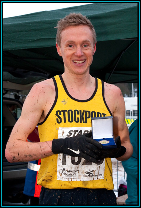 Steve Vernon - Northern Cross Country Champion 2013