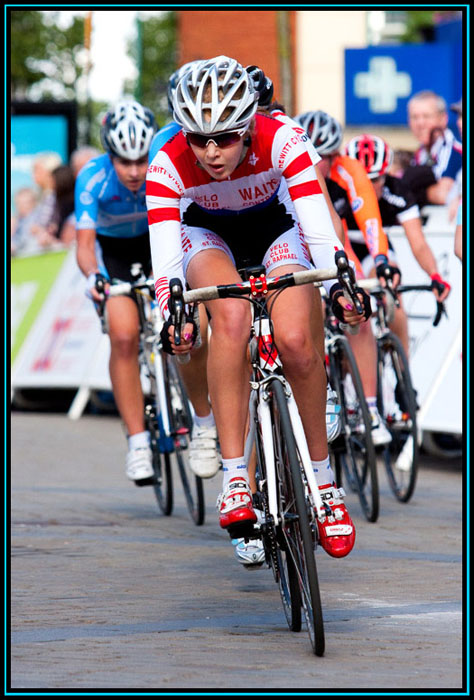 Sarah Byrne - 2011 Johnson Health Tech Grand Prix - Oldham