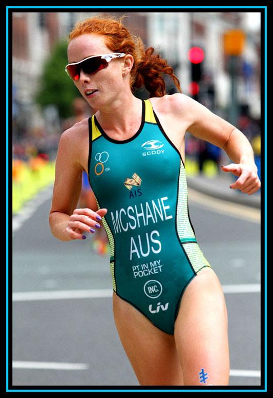 Charlotte McShane - WTS Triathlon Leeds 2017