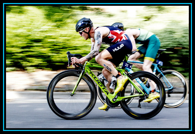 Tom Bishop - WTS Leeds Triathlon 2018