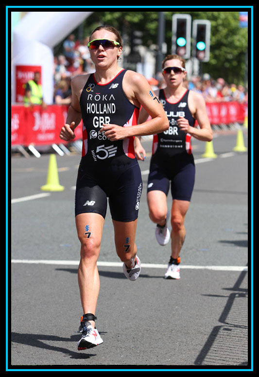 Vicky Holland - WTS Leeds Triathlon 2018